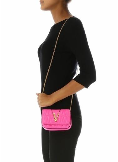 Versace Omuz Çantası Fuşya